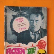 Tebeos: ESPIONAJE- ROSA DE MUERTE- TORAY- 1967. Lote 297259188