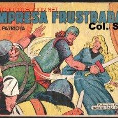 Tebeos: EL PATRIOTA Nº 5 - ORIGINAL 1960. Lote 14058542