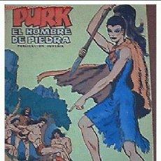 Tebeos: COMIC ANTIGUO PURK.EL HOMBRE DE PIEDRA.Nº 7.POSIBILIDAD DE LOTES CON DESCUENTOS.. Lote 26380472