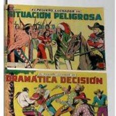 Tebeos: TRES TEBEOS ORIGINALES DE EL PEQUEÑO LUCHADOR. Lote 4818730