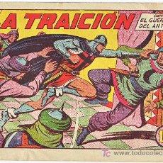 Tebeos: EL GUERRERO DEL ANTIFAZ-N-154 EDITORIAL VALENCIANA --ORIGINAL. Lote 3492222