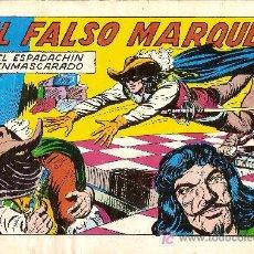 Tebeos: 'EL ESPADACHÍN ENMASCARADO', Nº 50. 2ª EDICIÓN. EDITORIAL VALENCIANA. 1982.. Lote 4747954