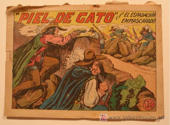 Tebeos: 6 nº El Espadachin enmascarado nº 4, 14, 50, 63, 140 y 202, Originales. sueltos 12 e c/u - Foto 2 - 26424436