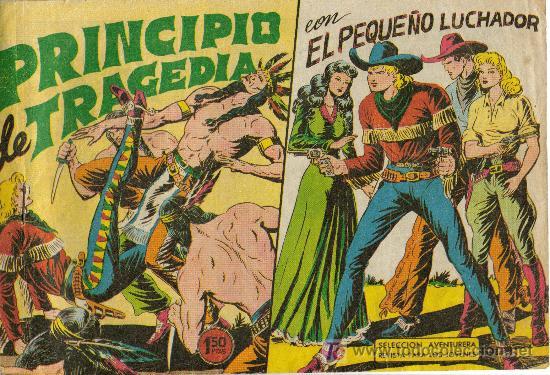 Tebeos: EL PEQUEÑO LUCHADOR ( VALENCIANA ) ORIGINAL 1960 LOTE - Foto 4 - 26288603