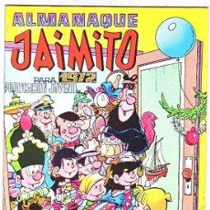 Tebeos: ALMANAQUE JAIMITO,,1972. Lote 4006419