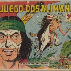 Tebeos: YUKI EL TEMERARIO (VALENCIANA) ORIGINALES 1958 LOTE. Lote 26268121