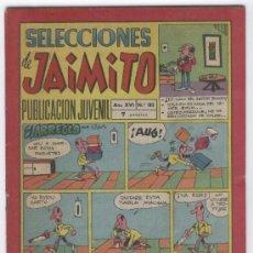 Tebeos: SELECCIONES DE JAIMITO 182 , AVENTURA DE A. GUERRERO DIBUJANTE ROCK VANGUA. Lote 8584586