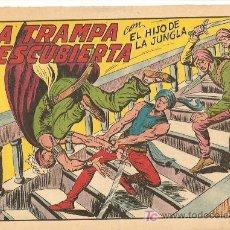 Tebeos: HIJO DE LA JUNGLA 7 IMPECABLE, DE LUJO, ORIGINAL EDI. VALENCIANA 1956. Lote 166838138