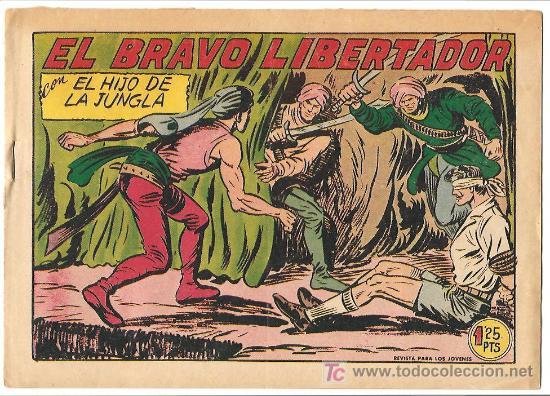 HIJO DE LA JUNGLA 18 MUY NUEVO, ORIGINAL 1956 EDI. VALNCIANA (Tebeos y Comics - Valenciana - Hijo de la Jungla)