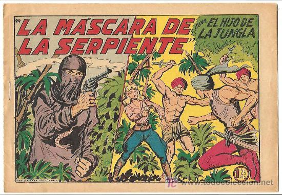 HIJO DE LA JUNGLA 21 MUY NUEVO, DE LUJO, ORIGINAL 1956 EDI. VALENCIANA (Tebeos y Comics - Valenciana - Hijo de la Jungla)