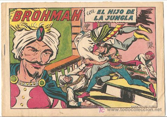 HIJO DE LA JUNGLA 28 IMPECABLE, DE LUJO, ORIGINAL 1956 EDI. VALENCIANA (Tebeos y Comics - Valenciana - Hijo de la Jungla)