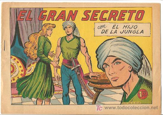 HIJO DE LA JUNGLA 30 IMPECABLE, DE LUJO, ORIGINAL EDI. VALENCIANA 1956 (Tebeos y Comics - Valenciana - Hijo de la Jungla)