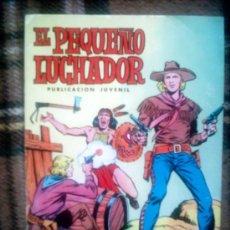 Tebeos: EL PEQUEÑO LUCHADOR Nº 1 VALENCIANA 1977 DIBUJOS MANUEL GAGO. Lote 24812375