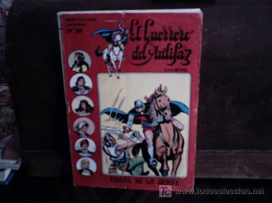 GUERRERO DEL ANTIFAZ SERIE INEDITA LOTE (Tebeos y Comics - Valenciana - Guerrero del Antifaz)