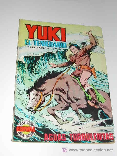 YUKI EL TEMERARIO N.18 (EDIVAL, VALENCIA) (Tebeos y Comics - Valenciana - Otros)