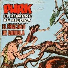 Tebeos: COMIC PURK EL HOMBRE DE PIEDRA, Nº 13: EL FRACASO DE DAMULA. Lote 6467523