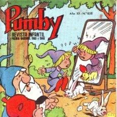 Livros de Banda Desenhada: PUMBY Nº 858. Lote 6704420