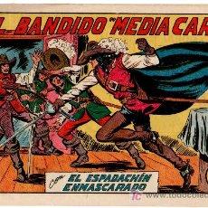 Tebeos: EL ESPADACHIN ENMASCARADO Nº 177 VALENCIANA 1952. Lote 8004497