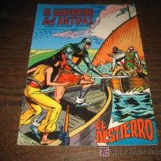 Tebeos: EL GUERRERO DEL ANTIFAZ...EL DESTIERRO ..EDIVAL 1973. Lote 6740254