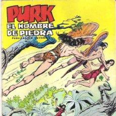 Tebeos: PURK EL HOMBRE DE PIEDRA *** VUELVEN LOS ALADOS NUM 43 *** 1974. Lote 18907280