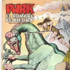 Tebeos: PURK EL HOMBRE DE PIEDRA *** EL ATAQUE DE LOS GURUS NUM 61 ***1975. Lote 6858153