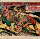 Tebeos: EL ESPADACHIN ENMASCARADO Nº 119 VALENCIANA 1952. Lote 8004434