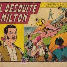 Tebeos: MILTON EL CORSARIO SELECCION DE AVENTURAS (VALENCIANA) ORIGINAL 1956-1958 LOTE. Lote 26874138
