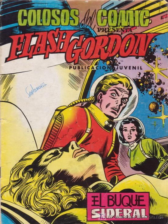 FLASH GORDON. EL BUQUE SIDERAL. COLOSOS DEL COMIC Nº 28. EDITORIAL VALENCIANA. (Tebeos y Comics - Valenciana - Colosos del Comic)