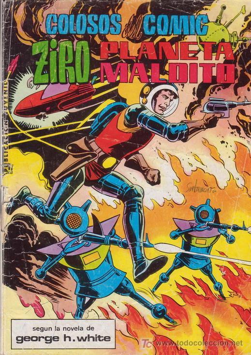 MIGUEL ANGEL AZNAR. ZIRO, PLANETA MALDITO. COLOSOS DEL COMIC Nº 14. EDITORIAL VALENCIANA. (Tebeos y Comics - Valenciana - Colosos del Comic)