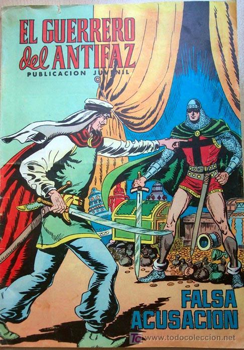 EL GUERRERO DEL ANTIFAZ Nº 144 (Tebeos y Comics - Valenciana - Guerrero del Antifaz)
