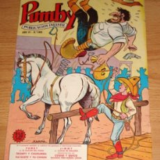 Tebeos: PUMBY - N. 145 - ED. VALENCIANA - .. Lote 7422768