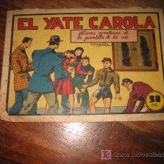 Tebeos: ELYATE CAROLA.-NUEVAS AVENTURAS DE LA PANDILLA DE LOS SIETE.-EDITORIAL VALENCIANA. Lote 23729097
