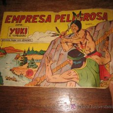Tebeos: EMPRESA PELIGROSA CON YUKI EL TEMERARIO Nº 24 .-EDITORIAL VALENCIANA 1958. Lote 9110126