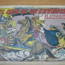 Tebeos: EL ESPADACHIN ENMASCARADO, Nº 171, ED. VALENCIANA.AÑO 1952. Lote 25412640