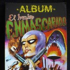 Tebeos: ALBUM ELHOMBRE ENMASCARADO.Nº1. EDITORA VALENCIANA 1980. COLOR . Lote 26924916