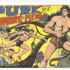 Tebeos: PURK EL HOMBRE DE PIEDRA (COMIC-MAN) REEDICION 1980 ? LOTE. Lote 26422329
