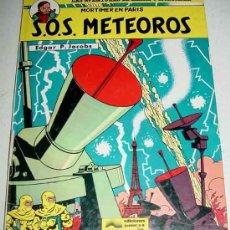 Tebeos: BLAKE Y MORTIMER - SOS METEOROS - POR EDGAR P. JACOBS - COLECCION N 05 - TAPA DURA - . Lote 8642326