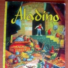 Tebeos: ADAPTACIÓN GRÁFICA DE CUENTOS CLÁSICOS - ALADINO - EDITORIAL VALENCIANA 1962. Lote 8671854