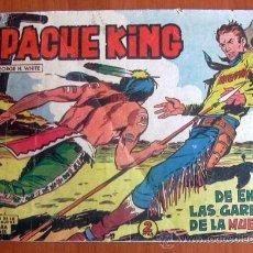 Tebeos: APACHE KING, Nº 9 - EDITORIAL VALENCIANA 1962. Lote 8672067