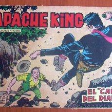 Tebeos: APACHE KING, Nº 14 - EDITORIAL VALENCIANA 1962. Lote 8672088