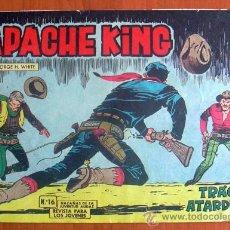 Tebeos: APACHE KING, Nº 16 - EDITORIAL VALENCIANA 1962. Lote 8672095