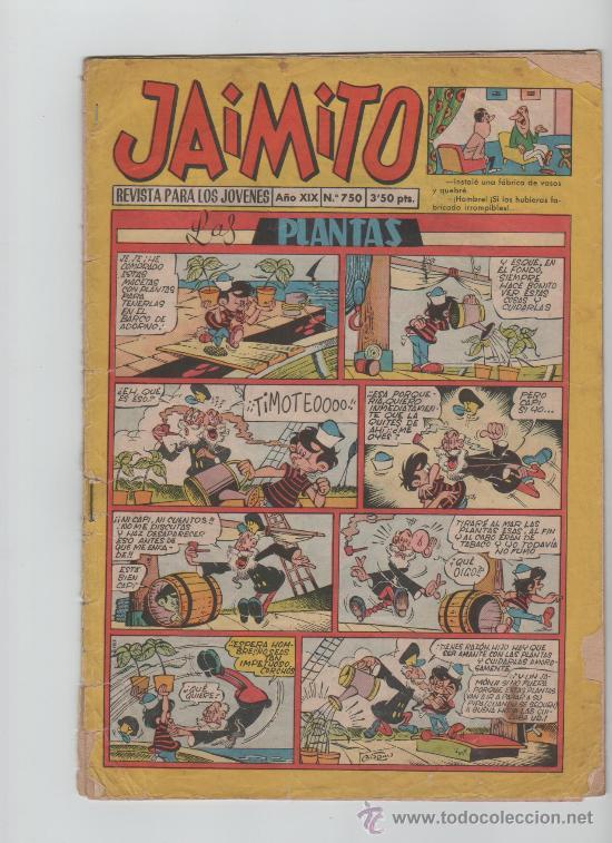 JAIMITO REVISTA PARA LOS JOVENES (Tebeos y Comics - Valenciana - Jaimito)