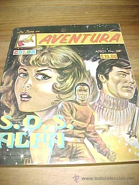 S.O.S. ALFA. LA FOCA ES AVENTURA. AÑO 1. Nº 27. NOVELA GRAFICA A COLOR. (Tebeos y Comics - Valenciana - S.O.S)