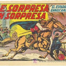Tebeos: ESPADACHIN ENMASCARADO ORIGINAL Nº 34. Lote 23649833