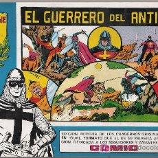 Tebeos: EL GUERRERO DEL ANTIFAZ. VALENCIANA 1981. TOMOS AZULES. COMPLETA (98 TOMOS). UN CLÁSICO. Lote 24365166