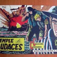 Tebeos: COLECCIÓN COMANDOS, Nº 13 - EDITORIAL VALENCIANA 1954. Lote 9323075