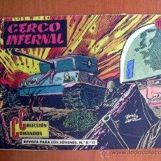 Tebeos: COLECCIÓN COMANDOS, Nº 14 - EDITORIAL VALENCIANA 1954. Lote 9323091