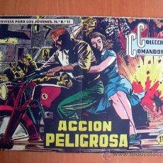 Tebeos: COLECCIÓN COMANDOS, Nº 20 - EDITORIAL VALENCIANA 1954. Lote 9323104