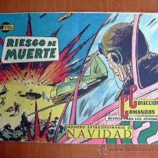 Tebeos: COLECCIÓN COMANDOS, Nº 47 - EDITORIAL VALENCIANA 1954. Lote 9323165