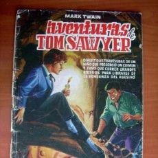 Tebeos: LAS AVENTURAS DE TOM SAWYER - EDITORIAL VALENCIANA 1959. Lote 9333472